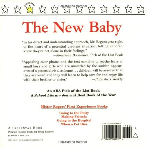 the new baby mr rogers fred rogers amazoncom books