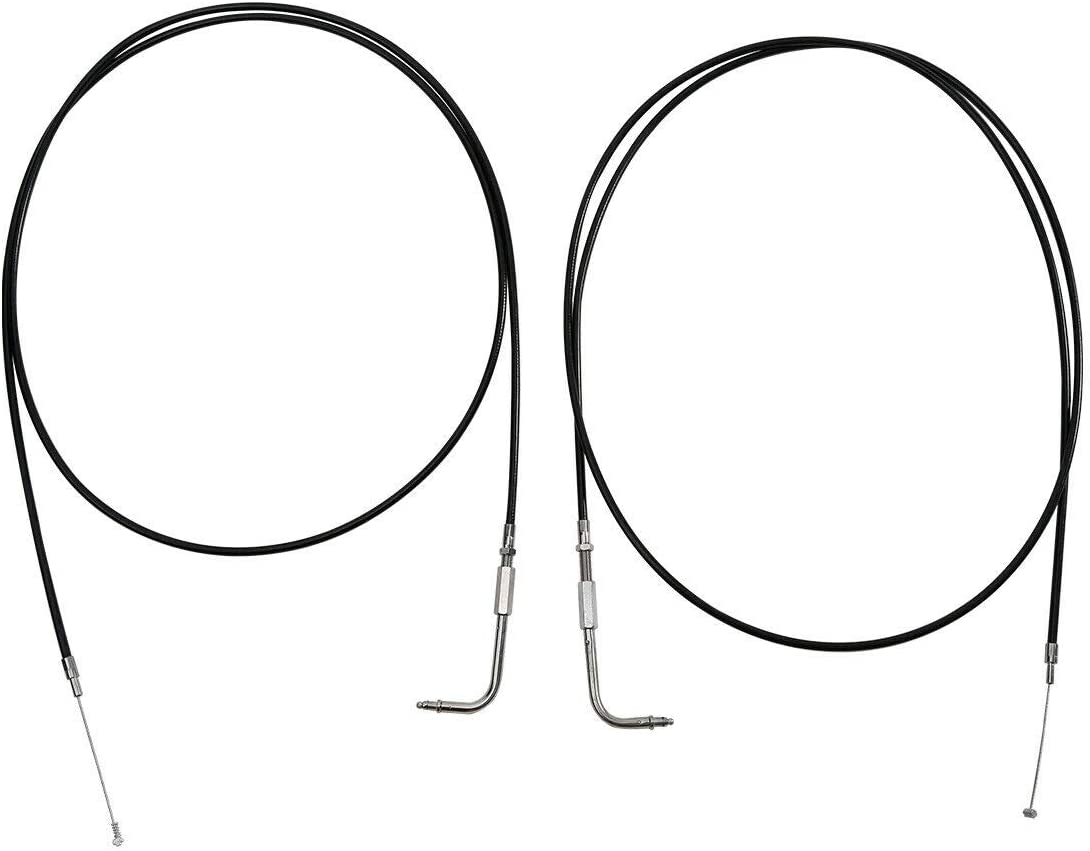 TCMT 110cm 43.3inch Throttle Cable Wire Fit For Harley Sportster XL1200C XLH1200C XL883L