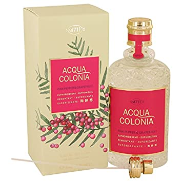 4711 Acqua Colonia Pink Pepper & Grapefruit 5.7 oz Eau De Cologne Spray For Women,