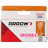 Arrow Fastener 259M 9/16-Inch Monel Corrosion Proof T25 Staples, 1000-Pack