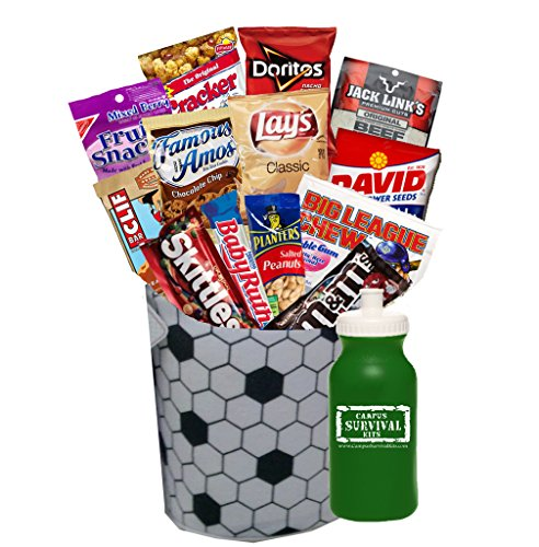 Sports Care Package Campus Survival Kit (Soccer)