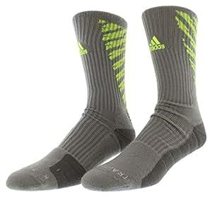 Adidas Climalite Team Speed Traxion Crew Socks LARGE