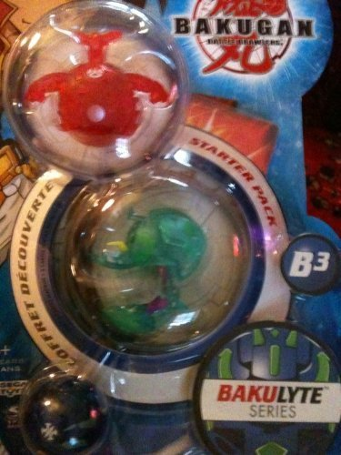 Bakugan Bakulyte 3 pack by Bakugan