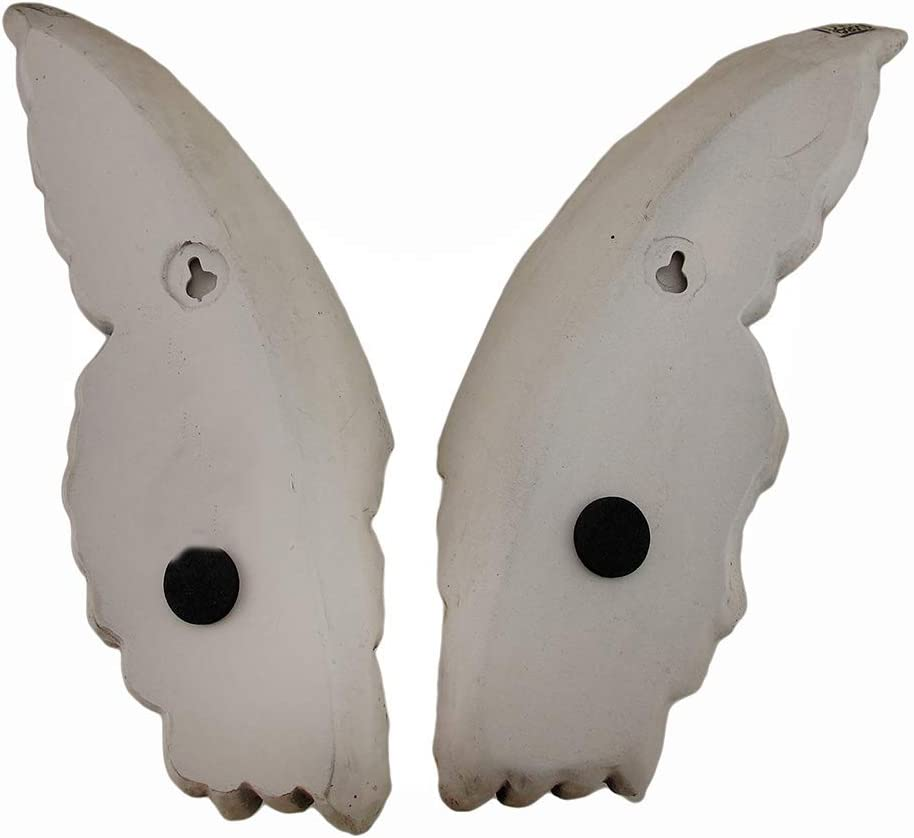 Wings of Protection Pair of Aged Finish Hanging Angel Wings