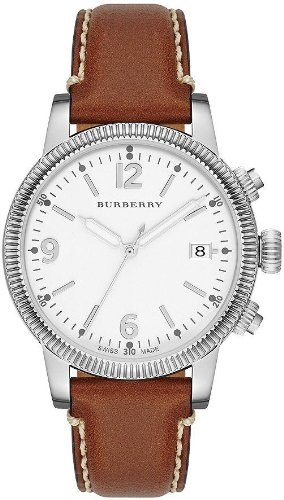 Burberry The Utilitarian Leather Ladies Watch BU7823
