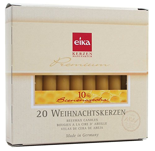 Eika Percent Beeswax Candles 10 5 cm product image