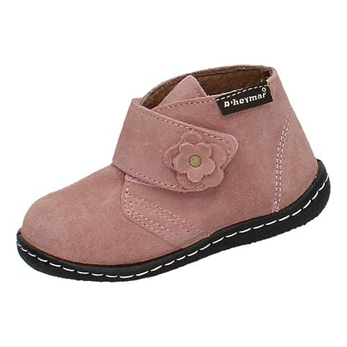 D HEYMAR 8094 Botita Serraje Rosa NIÑA Botas-Botines: Amazon.es: Zapatos y complementos