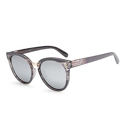 RLJJSH Gafas de Sol para Hombre Gafas de Sol Retro Imitación ...