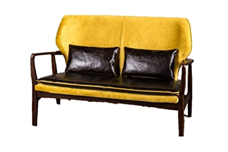 Peppermill Interiors Vintage Look Sofa Retro Style Sofa Mid Century