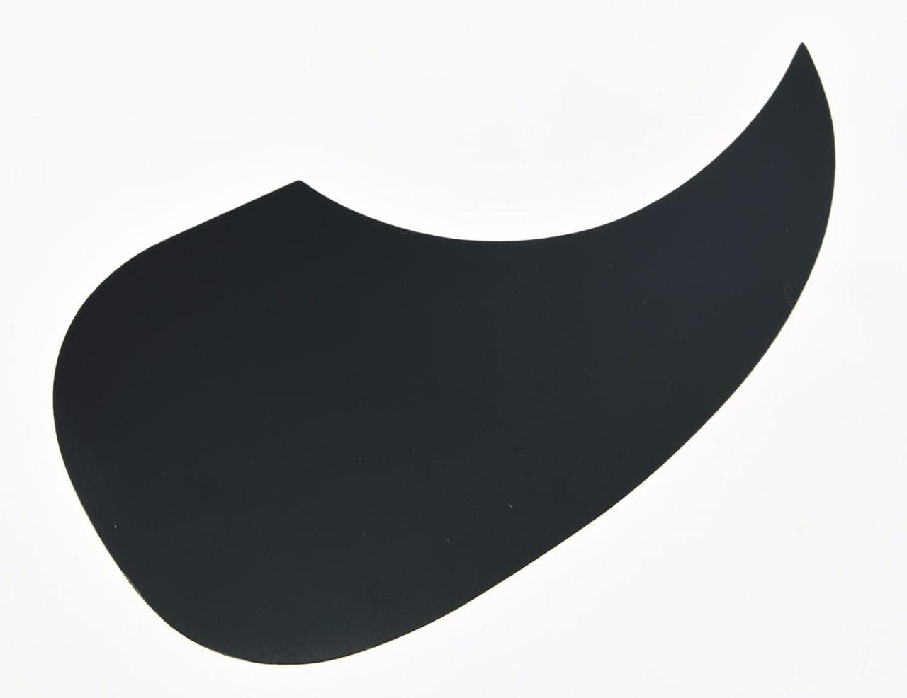 Dopro Clear Teardrop Acoustic Guitar Pickguard Transparent Scratch Plate with 3M Self Adhesive