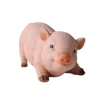 Jardin Animaux Décoration Résine Petit Cochon Animal ...