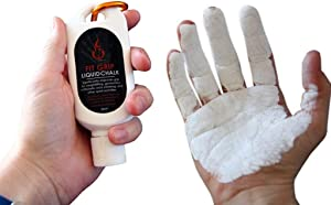 Fire Team Fit Liquid Chalk for Weight Lifting, Rock Climing, Cross Training, Powerlifting, Gym Approved Workout Chalk for Hands & Calluses