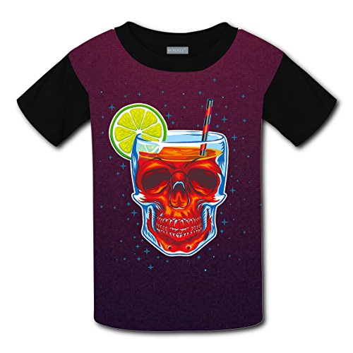 Mmm fight Skull Light Weight T-Shirt 2017 The Latest Version For kidsfree Postage]()