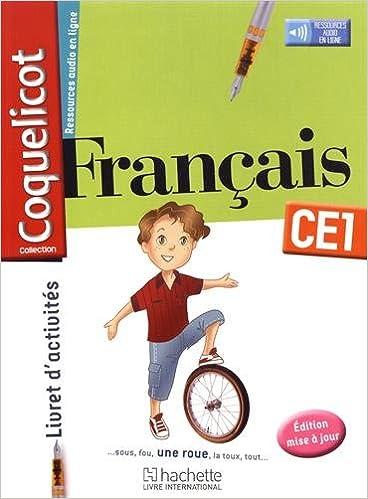 Francais Ce1 Coquelicot Livret D Activites 9782753111226