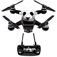 Skin for DJI Spark Mini Drone Combo - Panda| MightySkins Protective, Durable, and Unique Vinyl Decal wrap cover | Easy To Apply, Remove, and Change Styles | Made in the USA