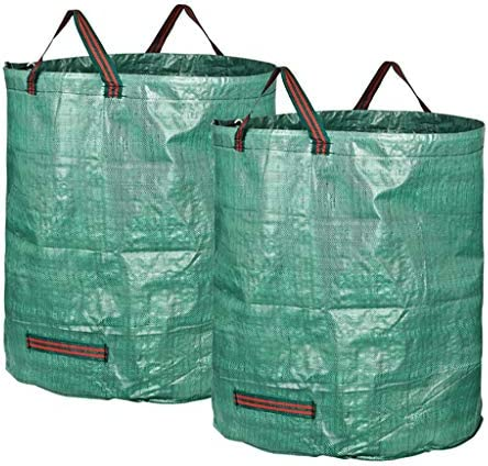 庭のゴミ袋、庭のゴミの草植物の花の貯蔵のきちんとしたバケツ(300L H84 cm、D67 cm) (サイズ さいず : 2 bags)