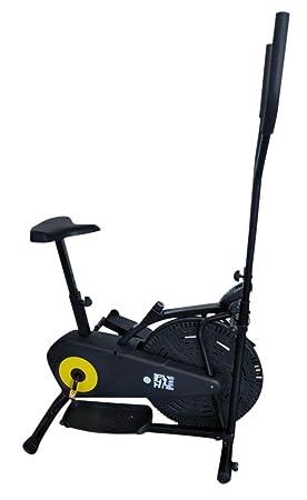Olympic 125 Elliptical - Bicicletas estáticas y de spinning para fitness, color negro