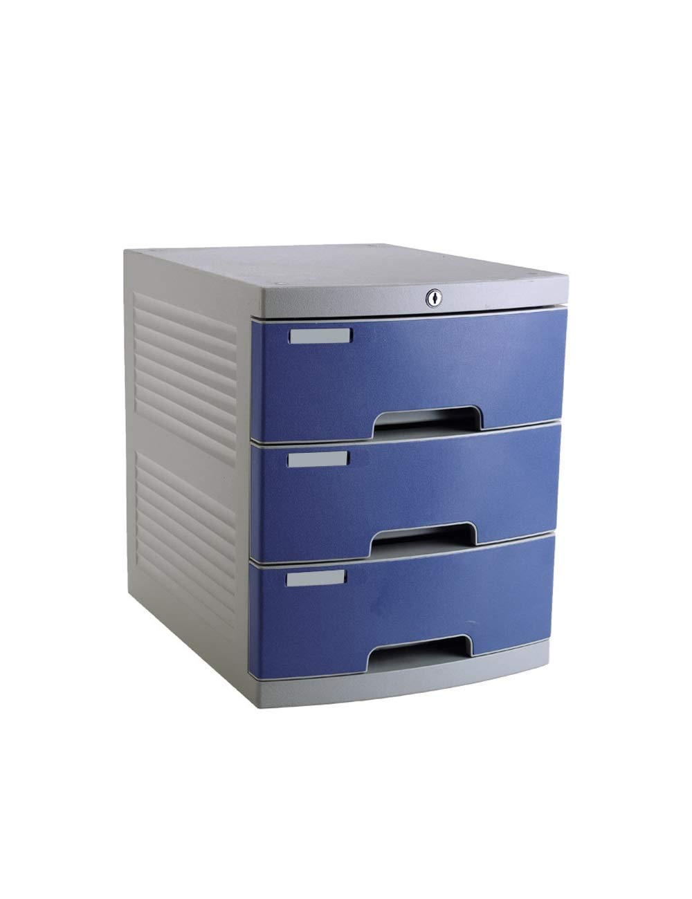 File Cabinet Office Desktop Drawer Type File Manager Stationery Cabinet 3 Layers A4 Plastic Data Cabinet Storage Box Storage Filing cabinets