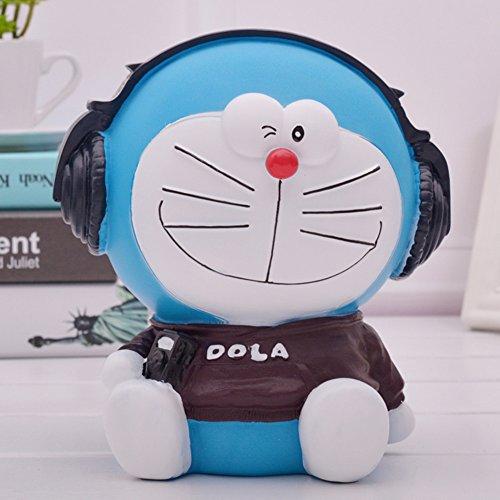 YOURNELO Cartoon Pokonyan Doraemon Toy Bank Money Box Coin Piggy Bank (A)