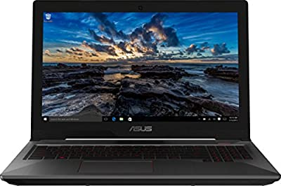 ASUS FX503VD FHD Powerful Gaming Laptop, Intel Core i7-7700HQ Quad-Core 2.8GHz (Turbo up to 3.8GHz) Processor by Asus