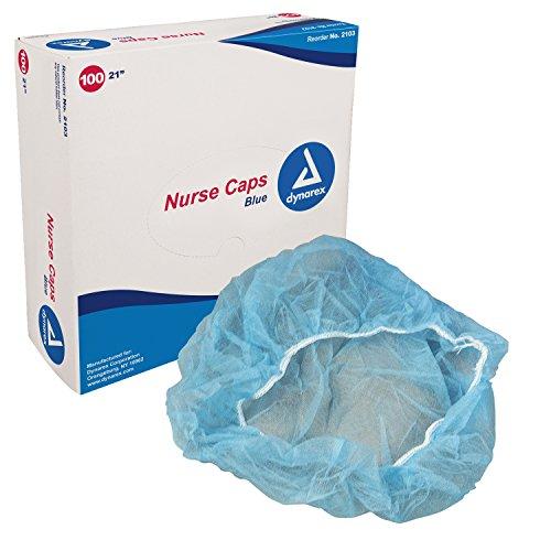 Dynarex O.R. Nurse Cap 21