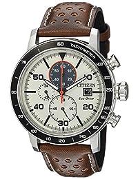 Citizen Men's CA0649-06X Eco-Drive Analog Display Japanese Quartz Brown Watch