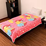 Factorywala Super Soft Princess Cartoon Kids Design Print Reversible Single Bed Dohar, Blanket, AC Dohar best gift for kids and at great discount offer price