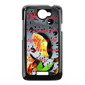 HTC One X Phone Cases Proverbs Quotations Back Design Phone Case BBTR9204233