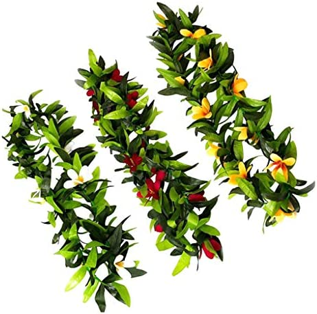 人工植物  花輪 フラワー 藤  ネックレス
