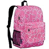 Wildkin Giraffe Crackerjack Backpack, Pink, One Size