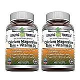 Cheap Amazing Nutrition Calcium Magnesium Zinc + Vitamin D3 300 Tablets – 2 Pack