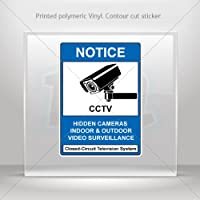 Decals Decal Hidden Cameras, Indoor/Outdoor Video Surveillance Atv Weatherproof Racing X4X39