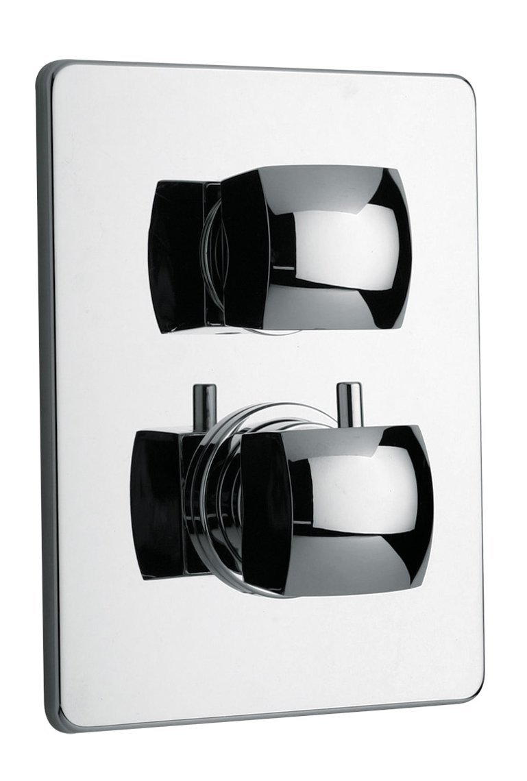 LaToscana 89CR691 Lady Thermostatic Valve with 2 Way Diverter Volume ...