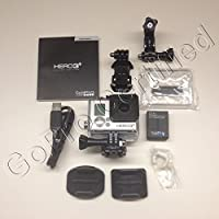 GoPro HERO3+: Silver Edition (Waterproof, Built-in WiFi,...