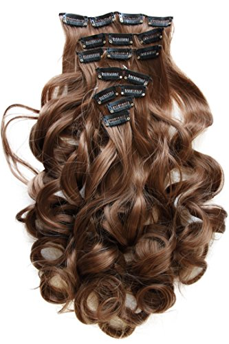 PRETTYSHOP Clip Extensions Hairpiece Heat Resisting product image