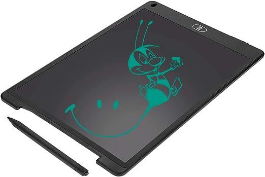お絵かきボード、12.0インチのポータブル手書きボード、手書きタブレットLCDライティングボードドラフト(子供向けのメモ絵画用)