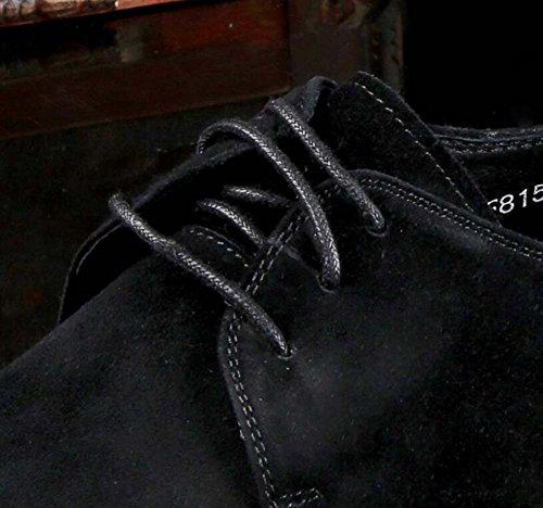 los Moda Respirable Trabajo Color los de de Zapatos de Zapatos Tamaño de Hombres 42 Atmósfera de la Negro Solos Oz1x0qY