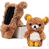 Generic EveryOne-Buy Stylish Cute 3D Teddy Bear Doll Toy Plush Case Cover For Apple iPhone 6 4.7 inch iPod Touch 4 iPod Touch 5 iPhone 5S/5/5C/4S/4 Brown (Brown for iPod touch 5)