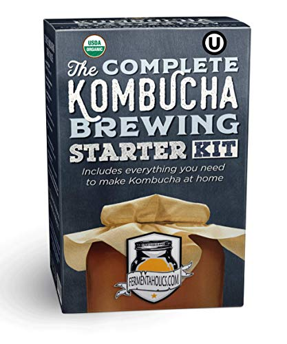 Complete Kombucha Brewing Starter Kit