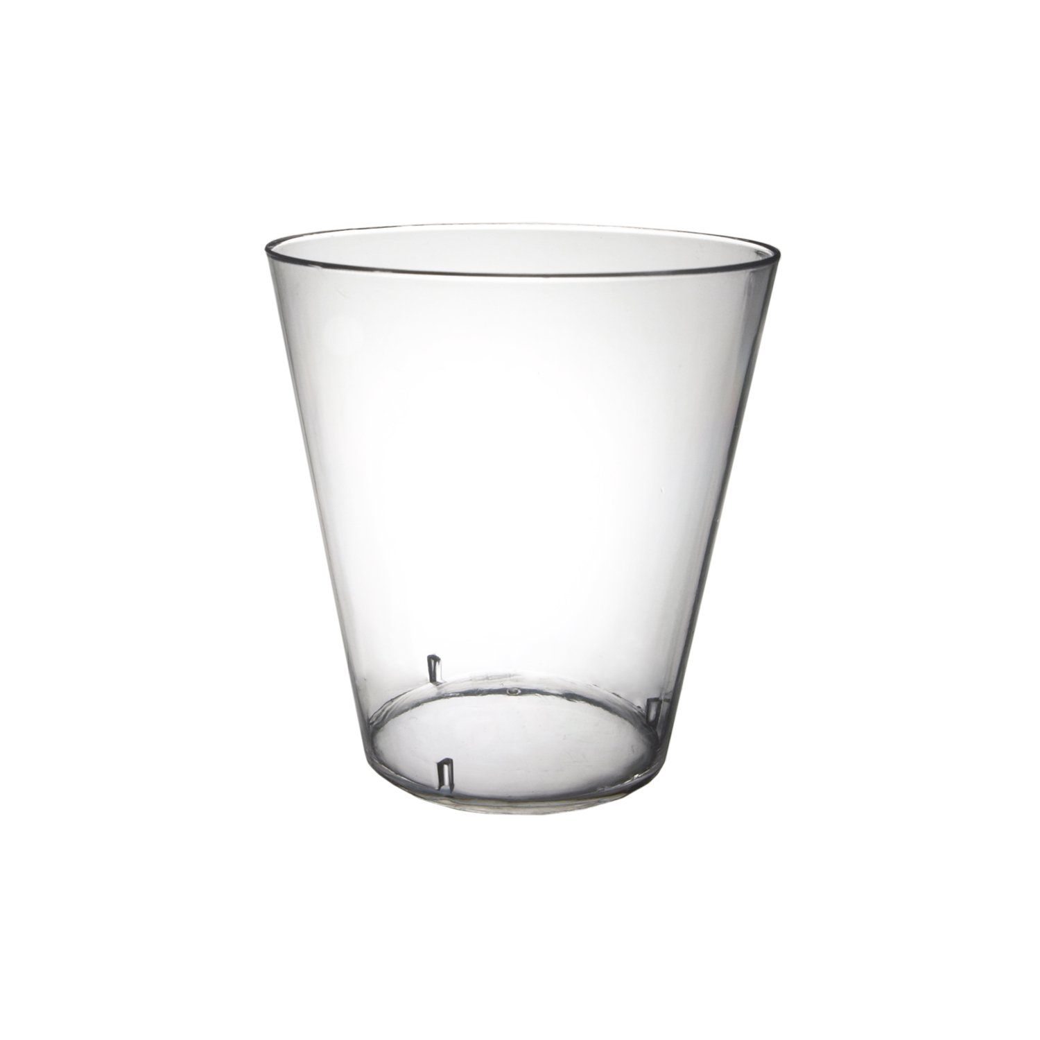 Party Essentials N25021 Hard Plastic Shot Glass, 2 oz. Capacity, Clear (20 Packs of 50)