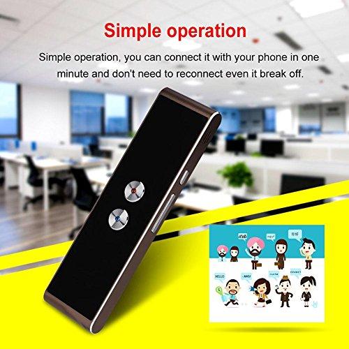 Vbestlife Language Translator Device Portable Smart Two-Way Real