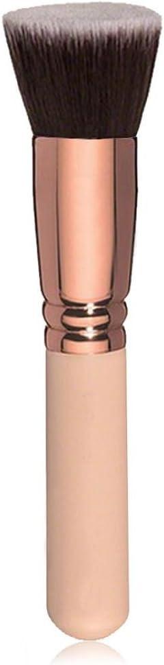 Brocha de Maquillaje SMARTLADY Kabuki Cepillo de Maquillaje Profesional para Bases De Maquillaje Liquido Tradicionales y Fluidas (01)