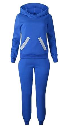 TTYLLMAO - Chándal - para Mujer Azul Azul S: Amazon.es: Ropa y ...