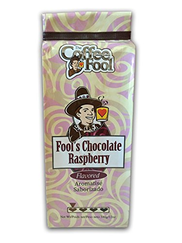 (The Coffee Fool Drip Grind, Fool's Decaf Chocolate Raspberry, 12 Ounce)