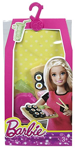 Barbie Doll Sushi Barbie Mini House Accessory Pack - Sushi (Set Accessory Pack)