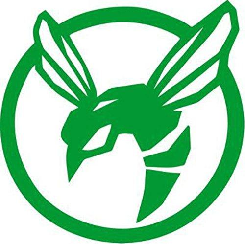 KEEN Green Hornet Decal Vinyl Sticker|Cars Trucks Walls Laptop Playstation Xbox|Green|5 in|KCD478
