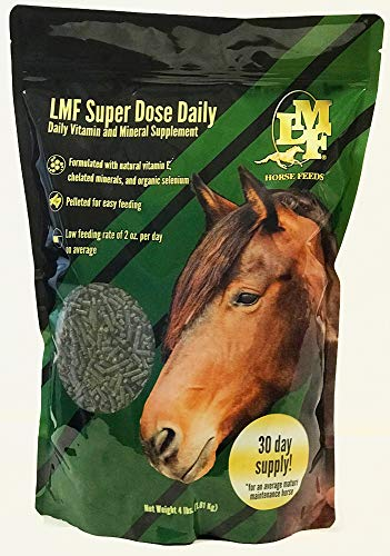 LMF Super Dose Daily 4 lb. Bag (Best Horse Feed For Easy Keepers)