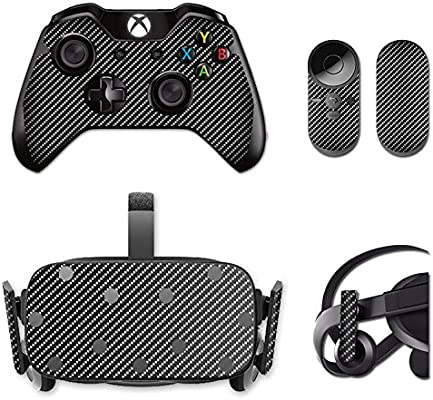 Amazon com: MightySkins Skin for Oculus Rift CV1 – Carbon Fiber