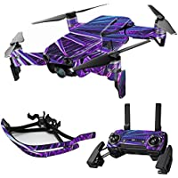 MightySkins Skin for DJI Mavic Air Drone - Neon Palms | Max Combo Protective, Durable, and Unique Vinyl Decal wrap cover | Easy To Apply, Remove, and Change Styles | Made in the USA
