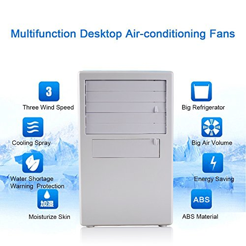 Luckstar Desktop Air Conditioning Fan Quiet Personal